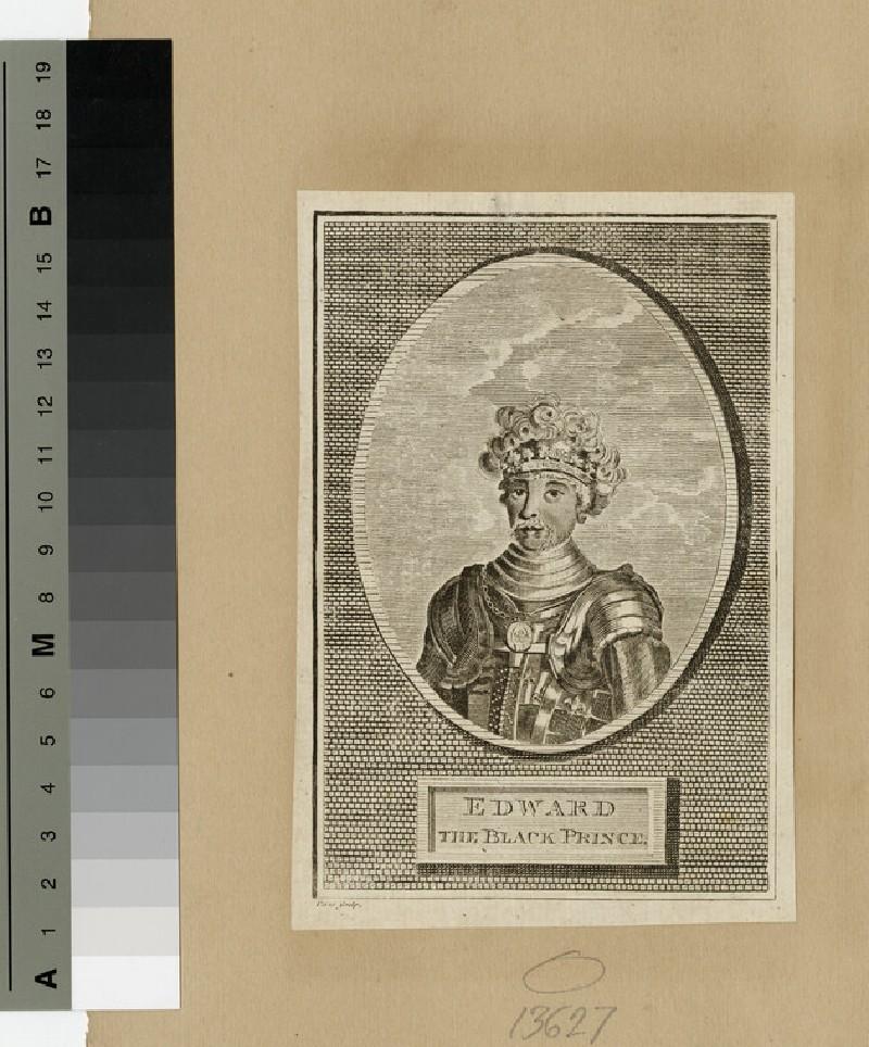 Portrait of Black Prince