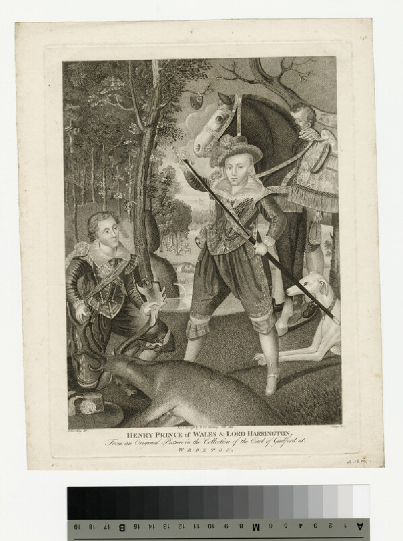 Portrait of Henry, Prince of Wales, and Lord Harrington