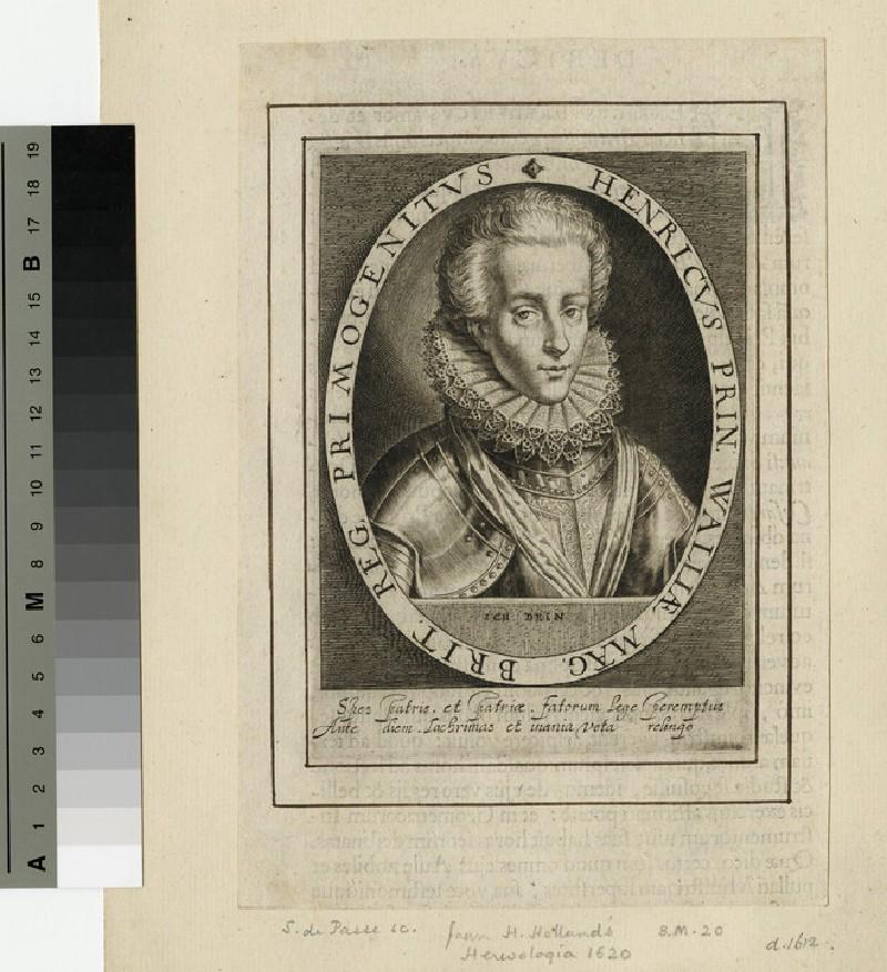 Portrait of Prince Henry