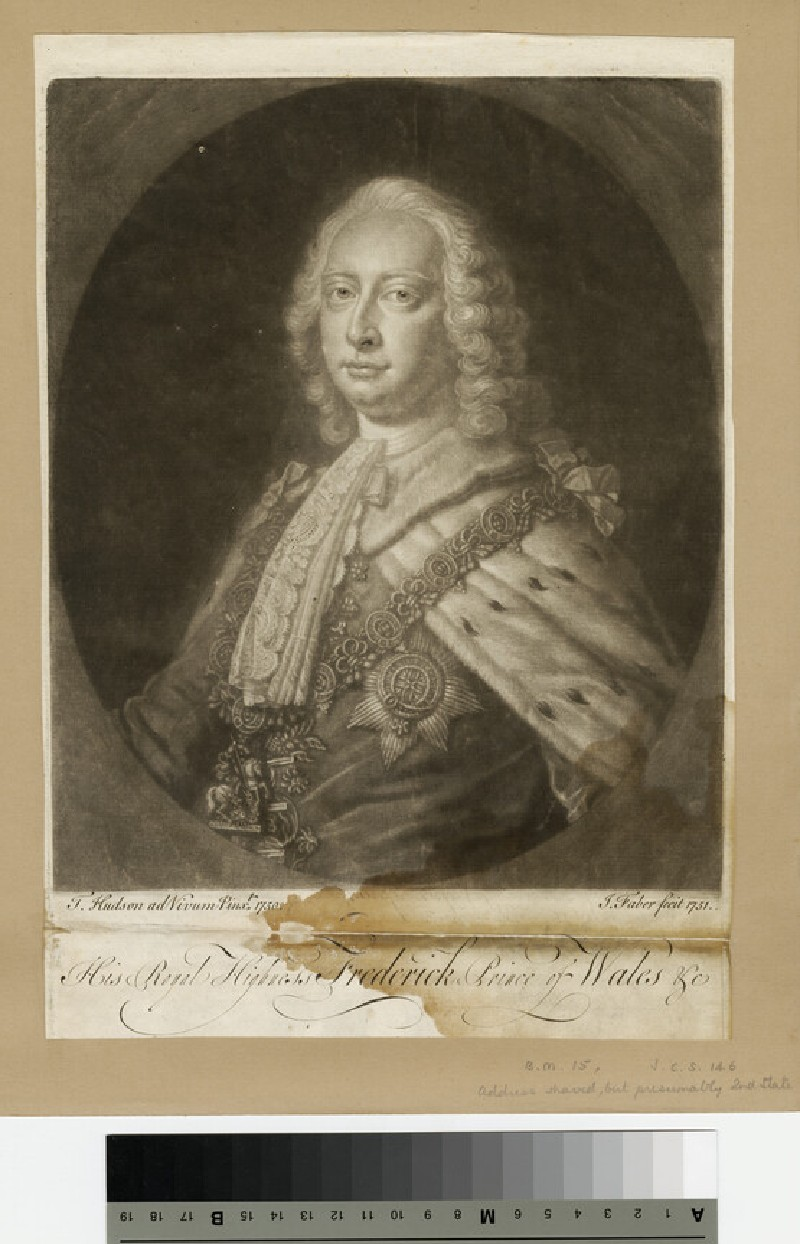 Portrait of Prince Frederick (WAHP13691)