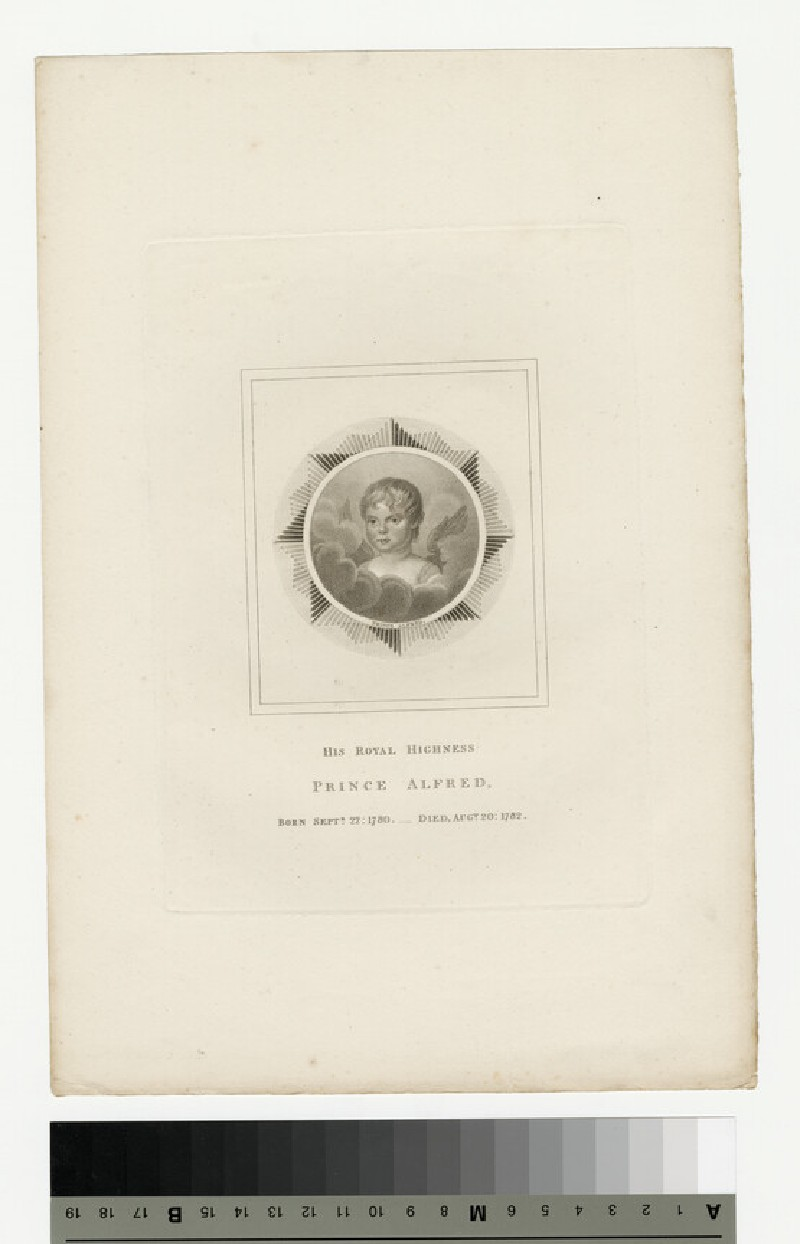 Portrait of Prince Alfred