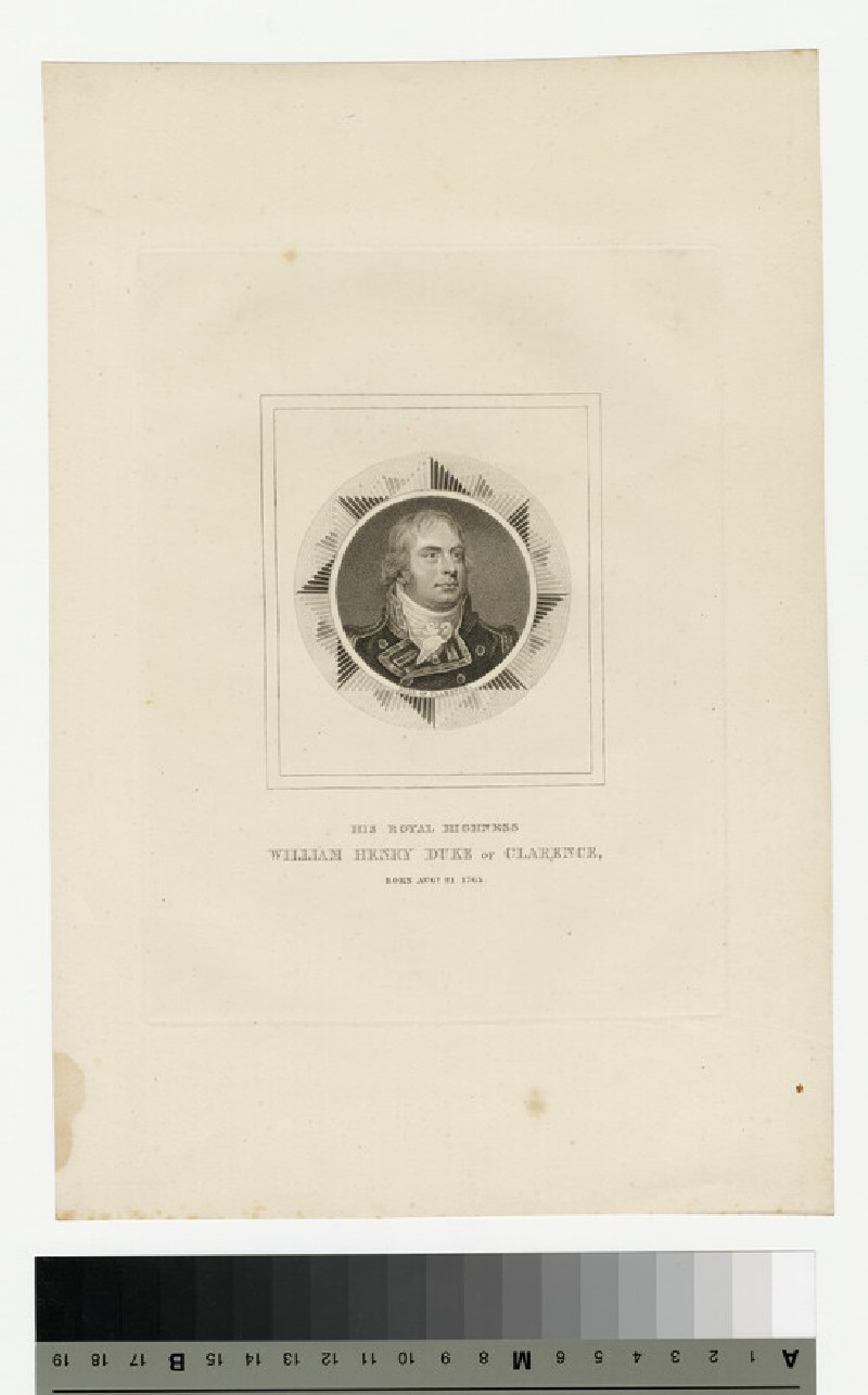 Portrait of William Henry, Duke of Clarence