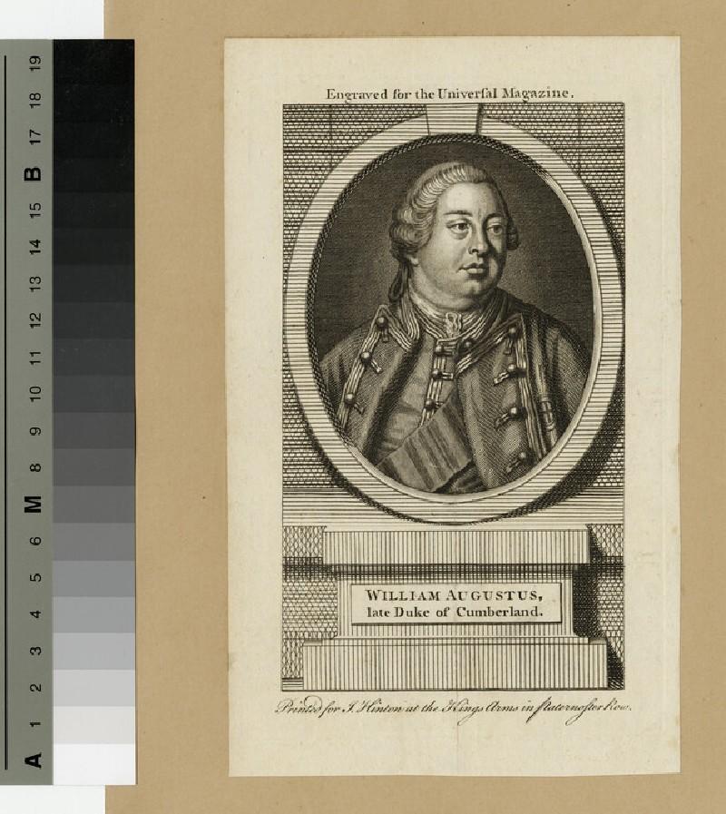 Portrait of William Augustus, Duke of Cumberland
