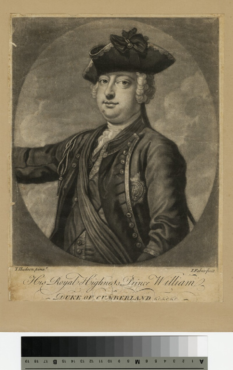 Portrait of William, Duke of Cumberland (WAHP13791)