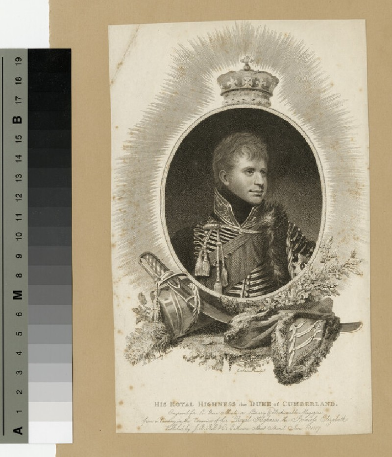 Portrait of the Duke of Cumberland