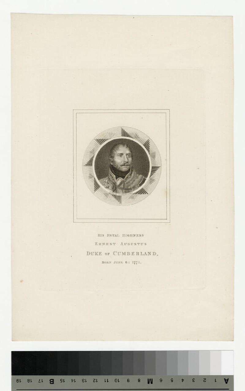 Portrait of Ernst Augustus, Duke of Cumberland (WAHP13819)