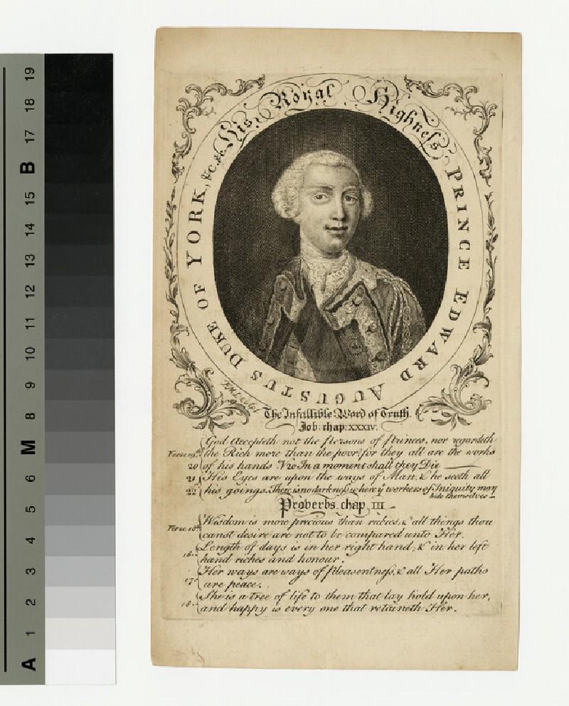 Portrait of Edward, Duke of York (WAHP13828)