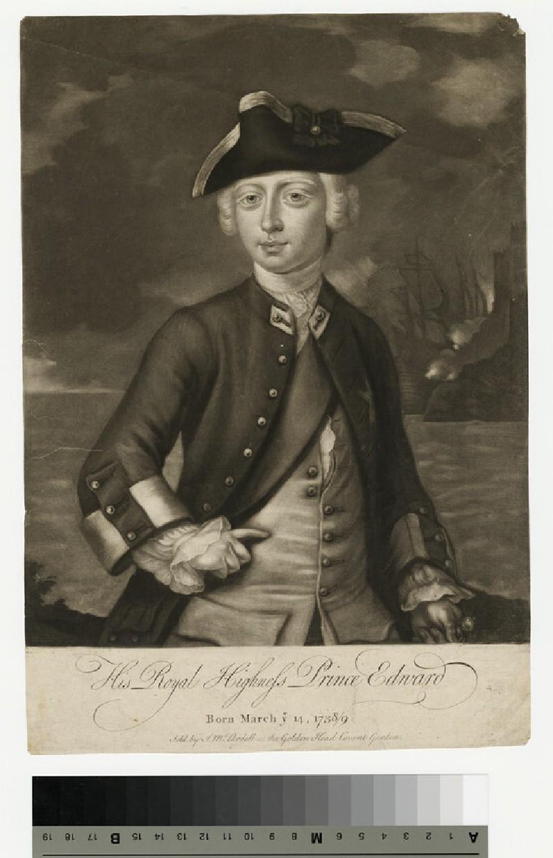 Portrait of Edward, Duke of York (WAHP13834)