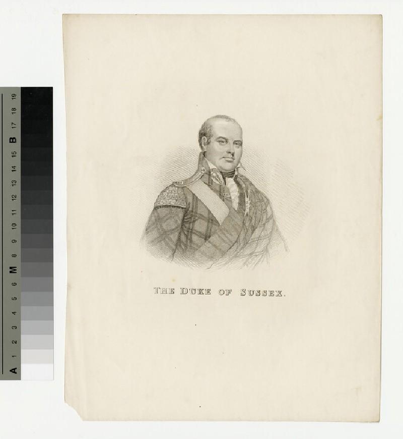 Portrait of Prince Augustus Frederick, Duke of Sussex