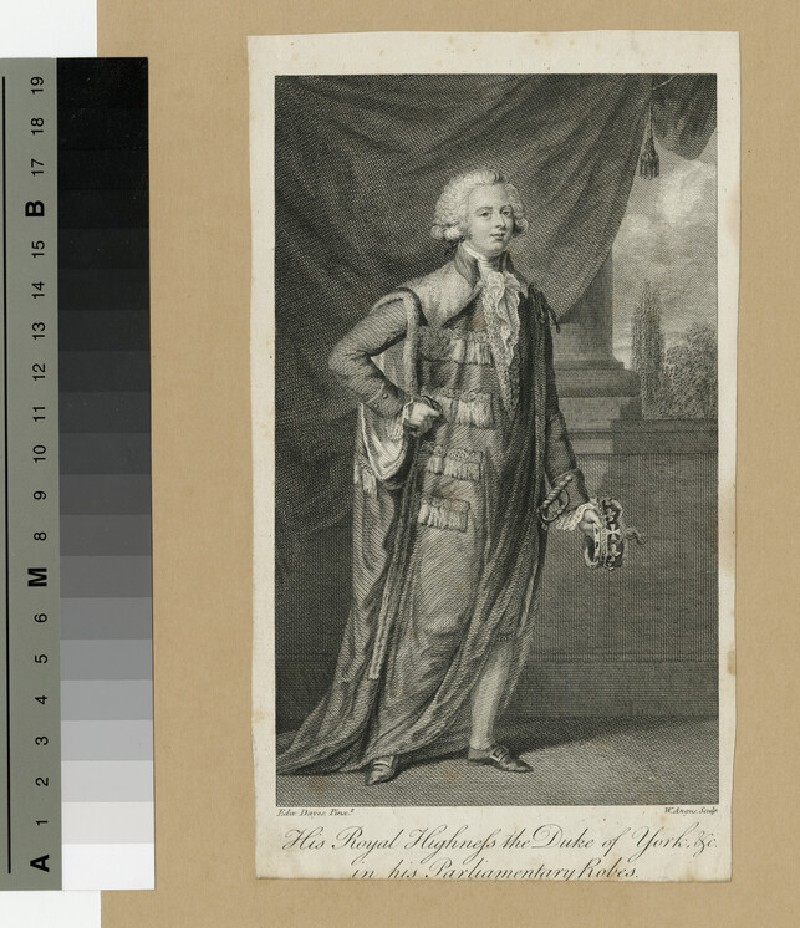 Portrait of Prince Frederick, Duke of York and Albany (WAHP13885)