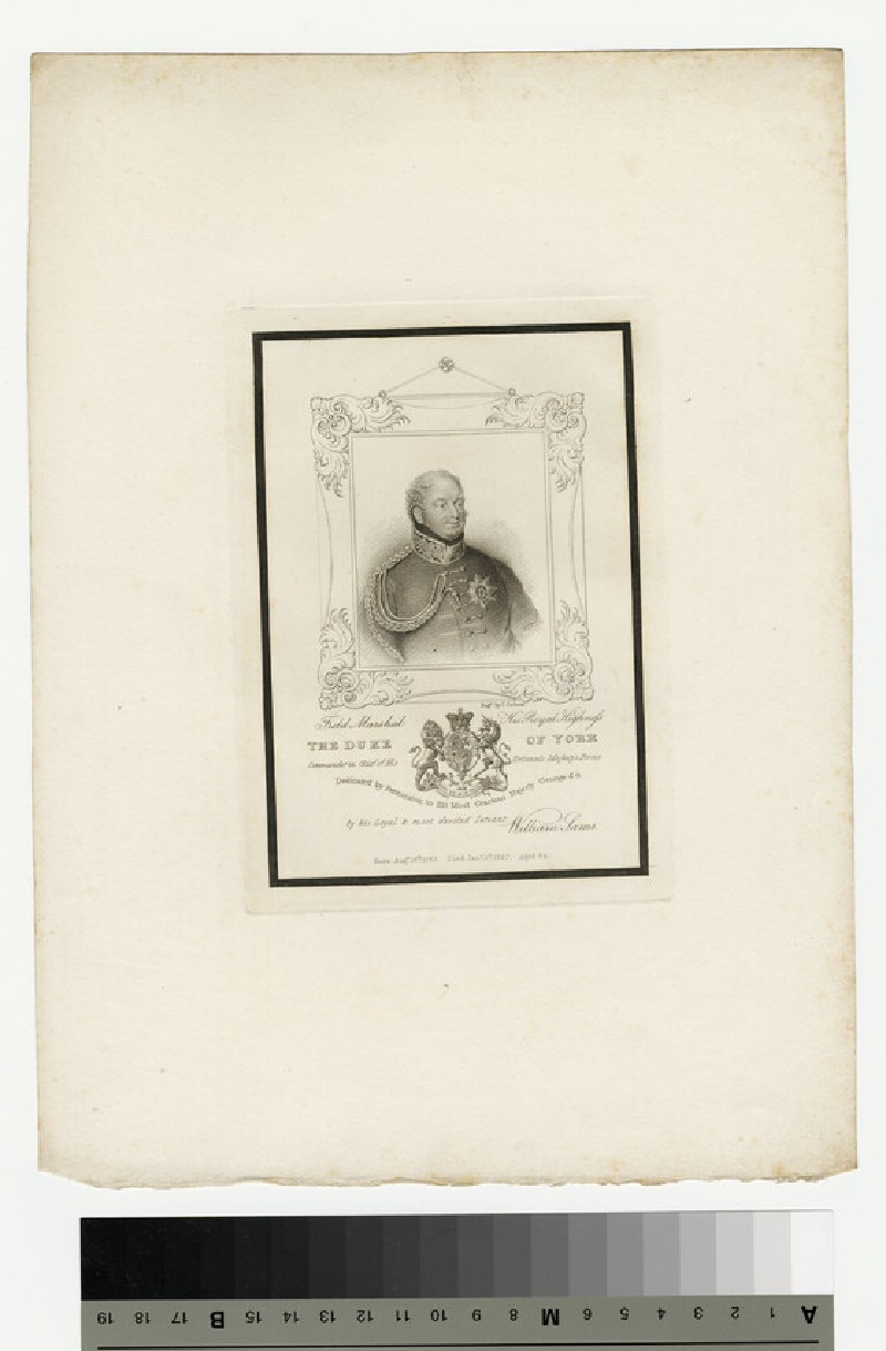 Portrait of Prince Frederick, Duke of York and Albany (WAHP13912)