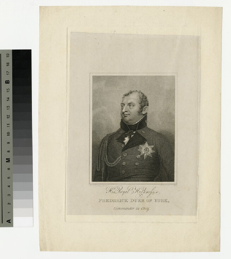 Portrait of Prince Frederick, Duke of York and Albany (WAHP13920.3)