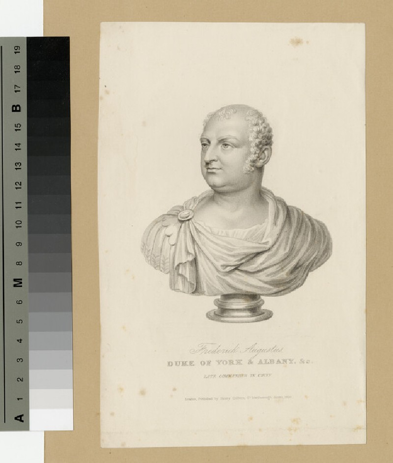 Portrait of Prince Frederick, Duke of York and Albany (WAHP13924.3)