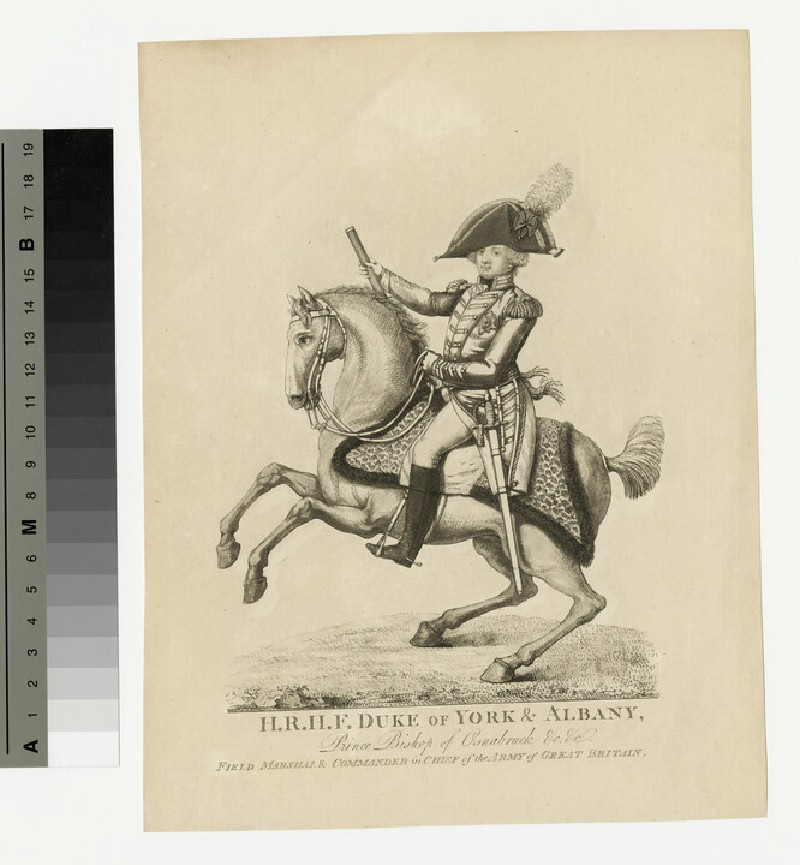 Portrait of Prince Frederick, Duke of York and Albany (WAHP13930)