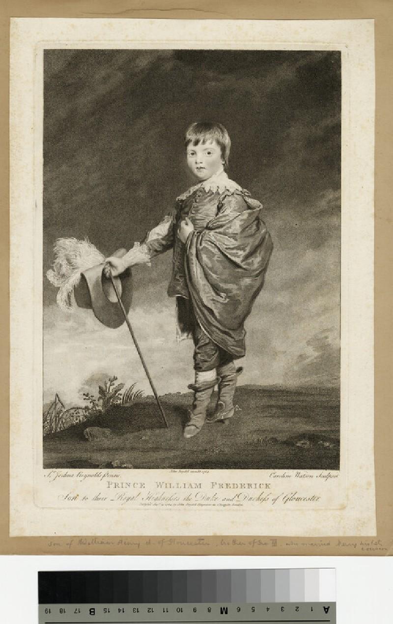 Portrait of Prince William Frederick, Duke of Gloucester and Edinburgh (WAHP13946)