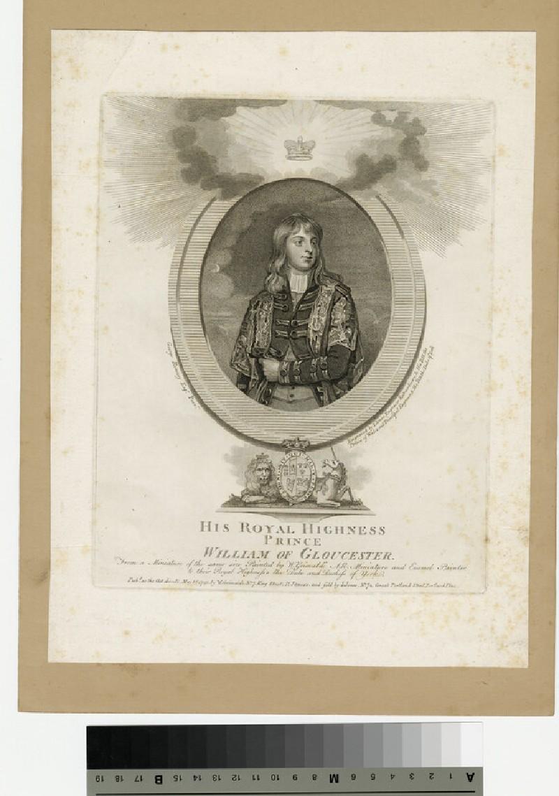 Portrait of Prince William of Gloucester