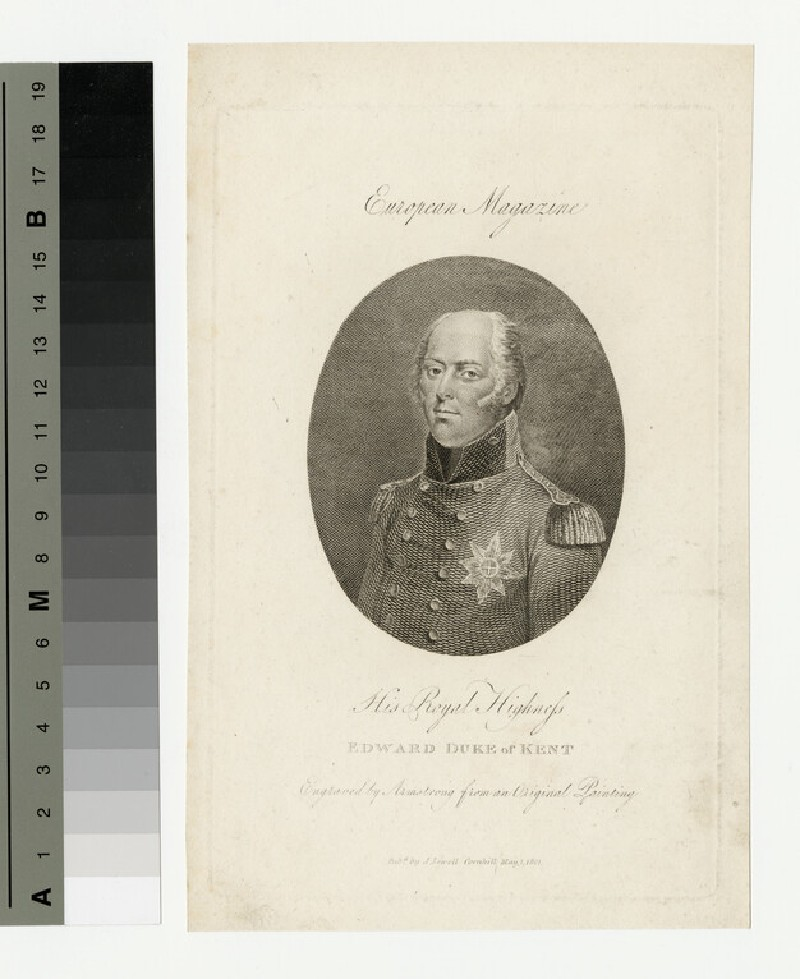 Portrait of Prince Edward, Duke of Kent and Strathearn (WAHP13964.1)
