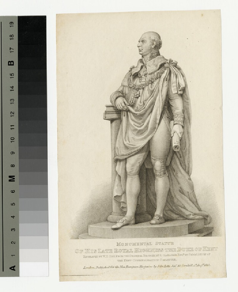 Monumental statue of the Late Duke of Kent (WAHP13966)