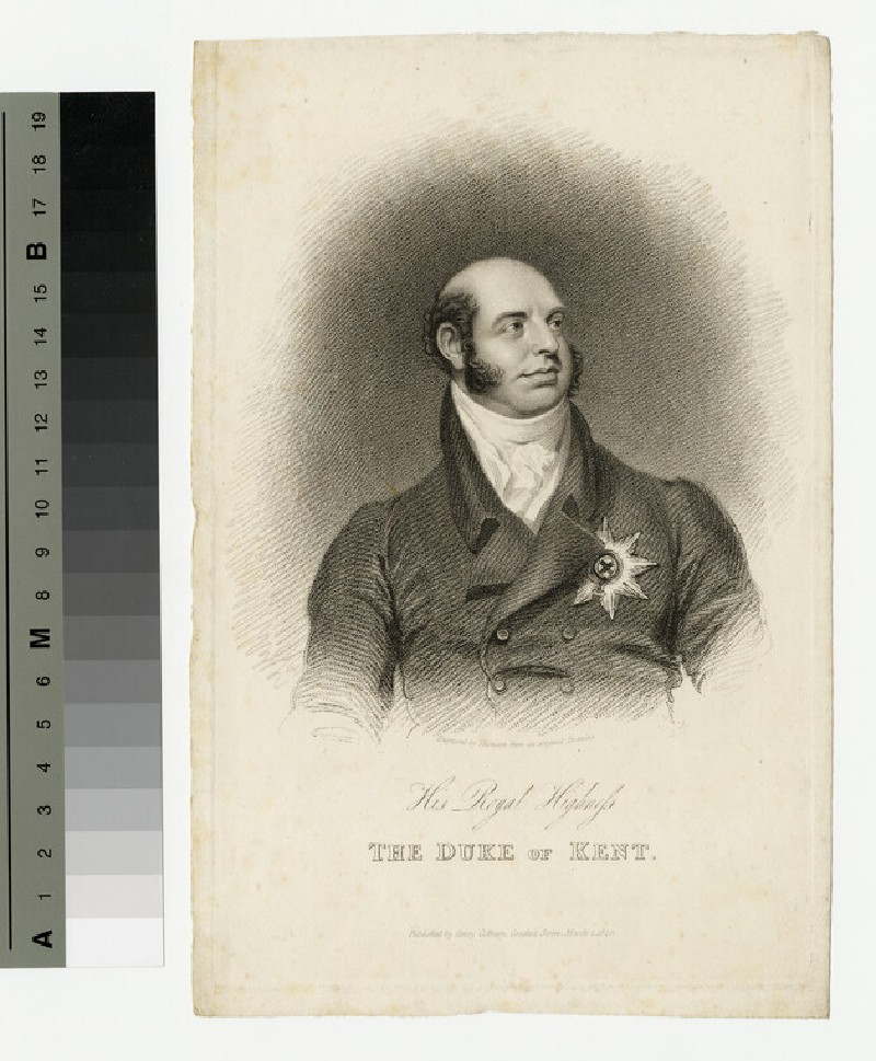 Portrait of Duke of Kent