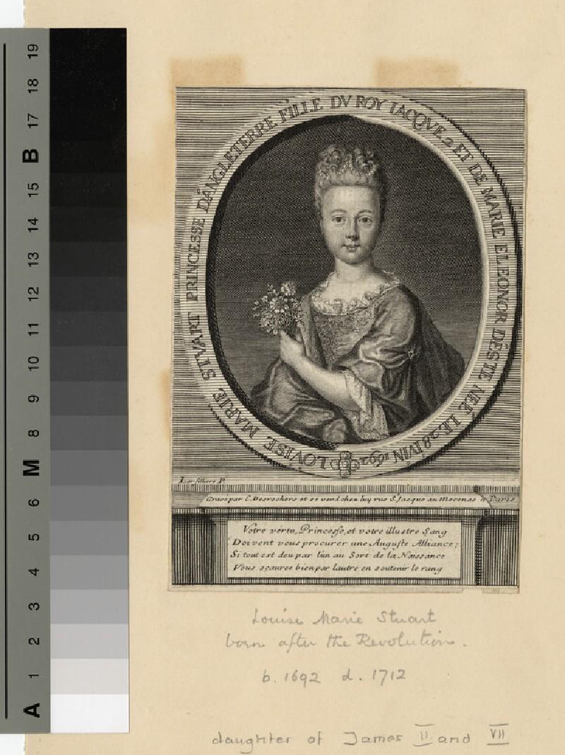Portrait of Princess Louise Marie (WAHP13997)