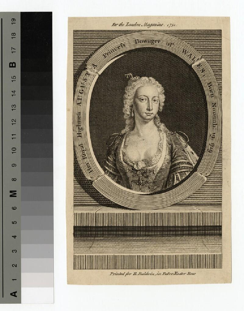 Portrait of Princess Augusta