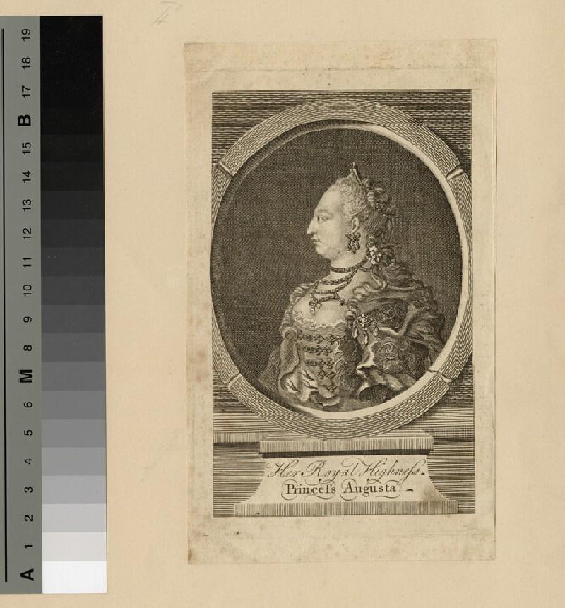 Portrait of Princess Augusta (WAHP14028)