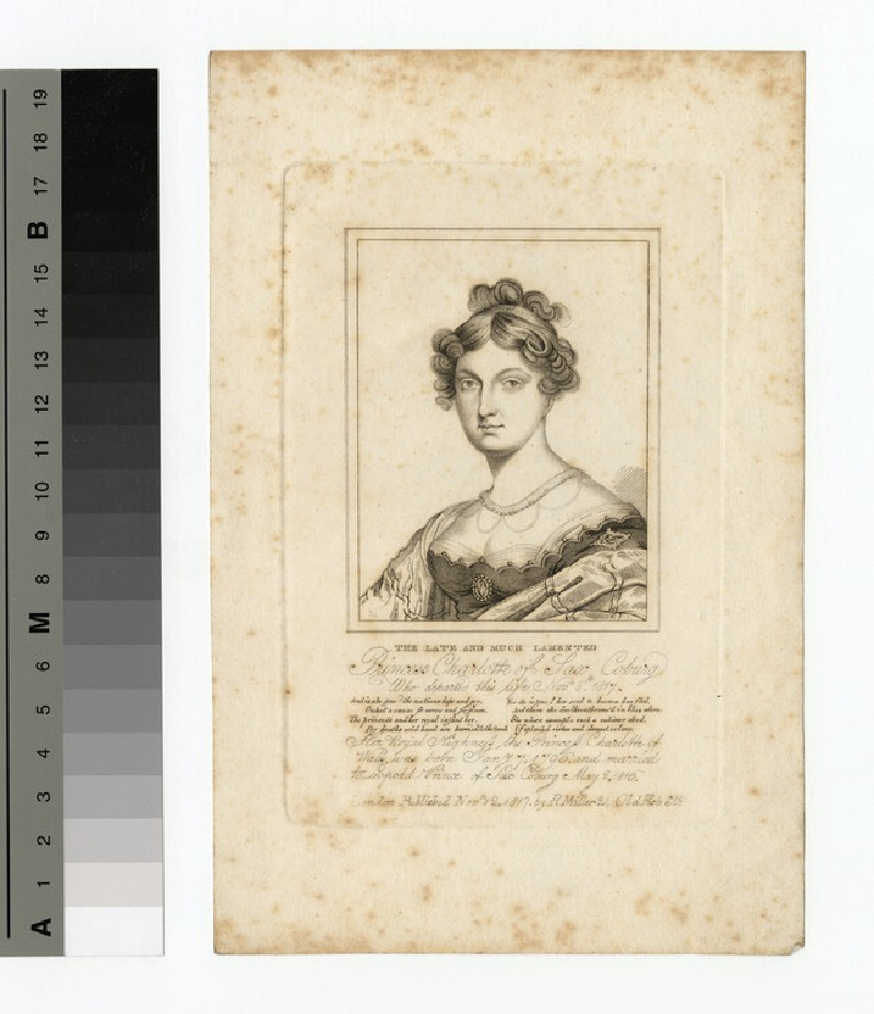 Portrait of Charlotte of Wales (WAHP14043)