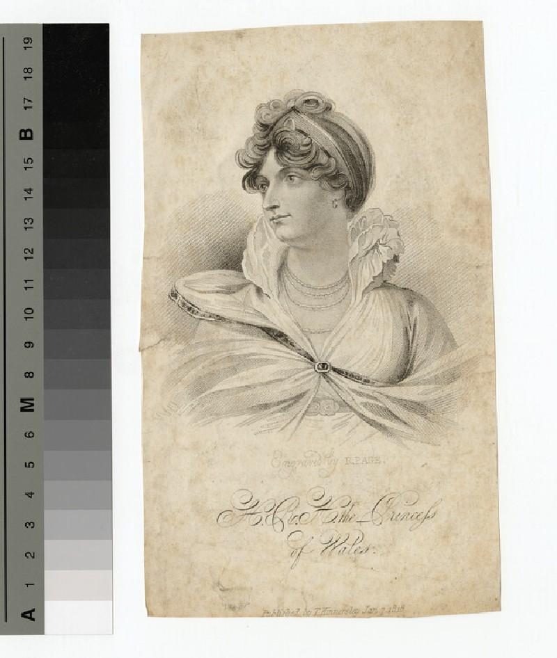 Portrait of Charlotte, Princess of Wales