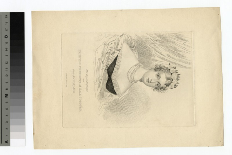 Portrait of Charlotte of Wales (WAHP14060)