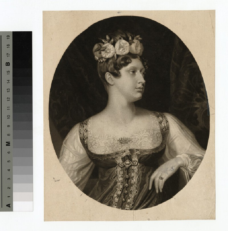 Portrait of Charlotte of Wales