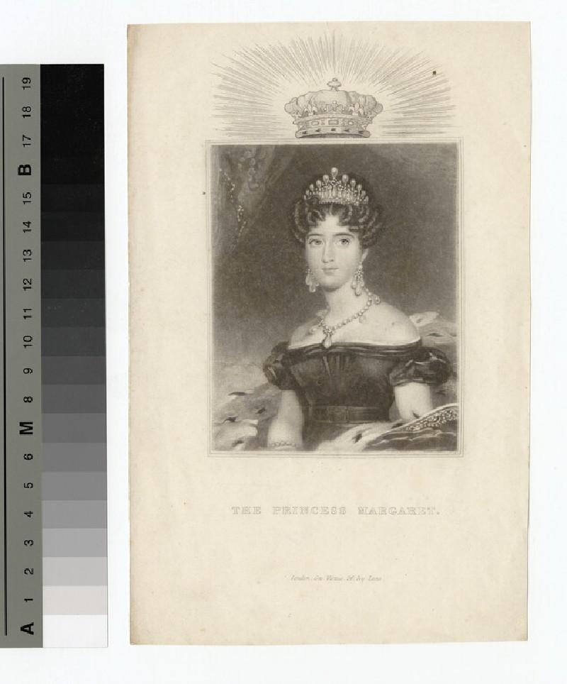 Portrait of the Princess Margaret (WAHP14109.3)