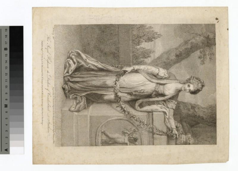 Portrait of Duchess Cumberland (WAHP14113)
