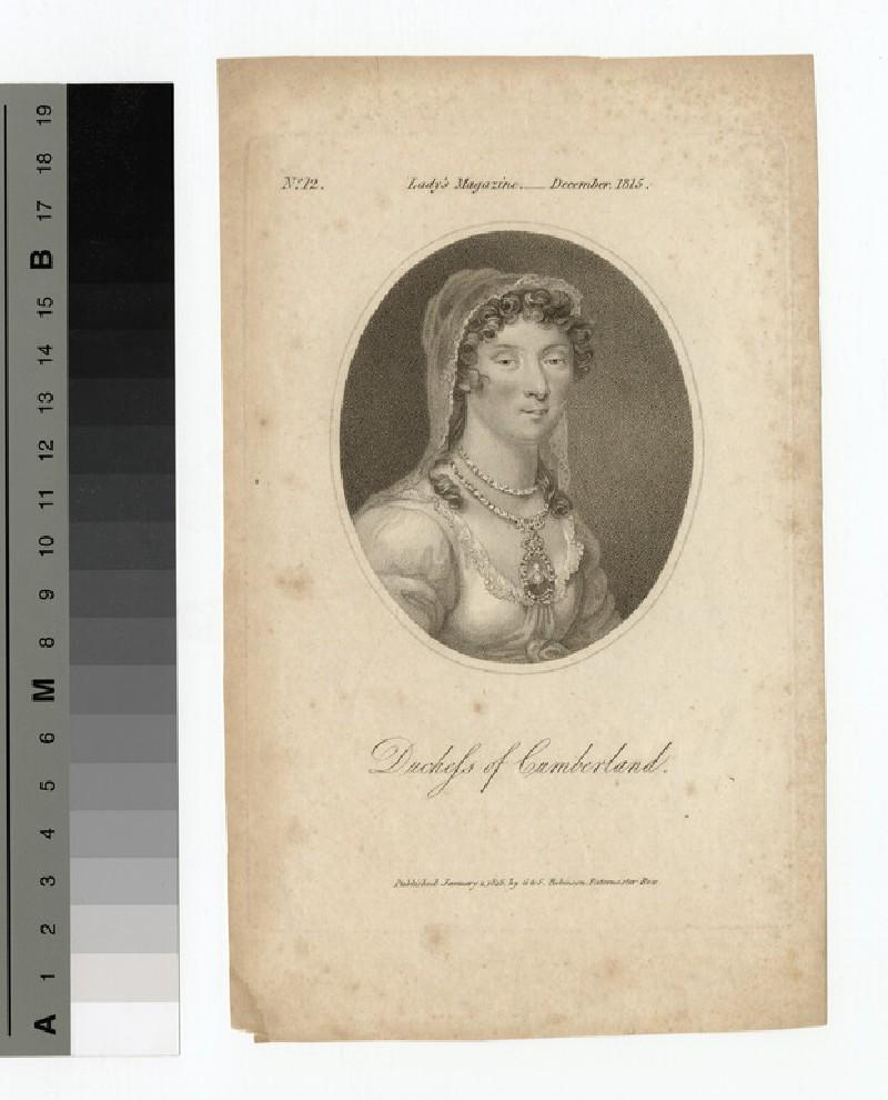 Portrait of Duchess Cumberland (WAHP14116)