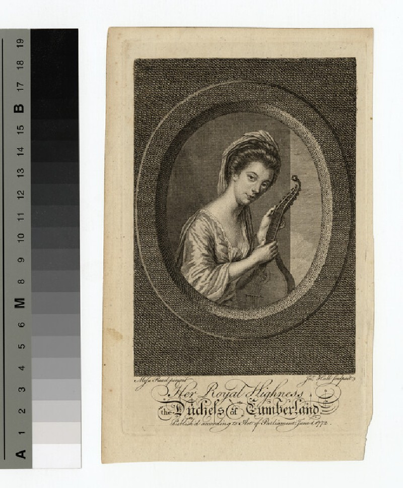 Portrait of Duchess Cumberland (WAHP14119)