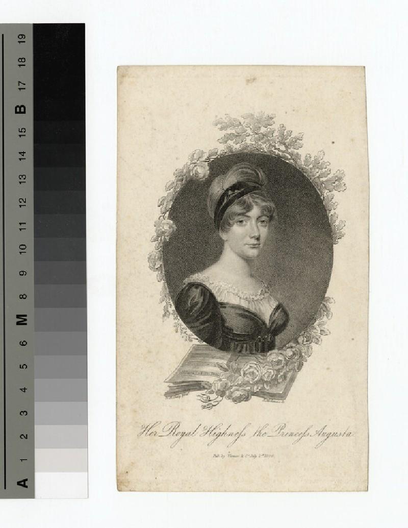 Portrait of Princess Augusta Sophia (WAHP14179.1)