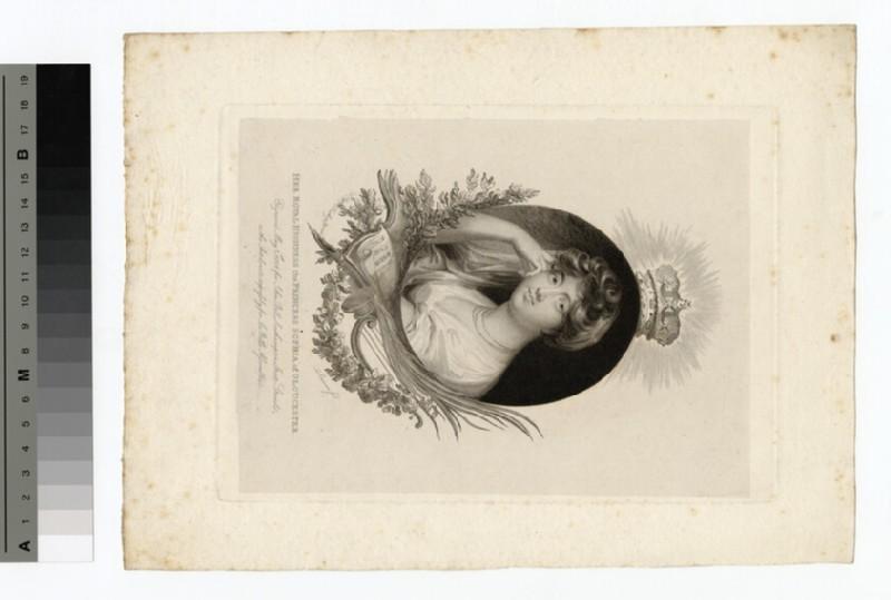 Portrait of Princess Sophia of Gloucester