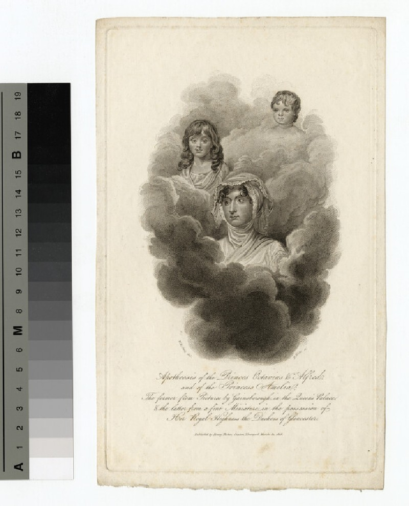 Portraits of the predeceasing children of George III