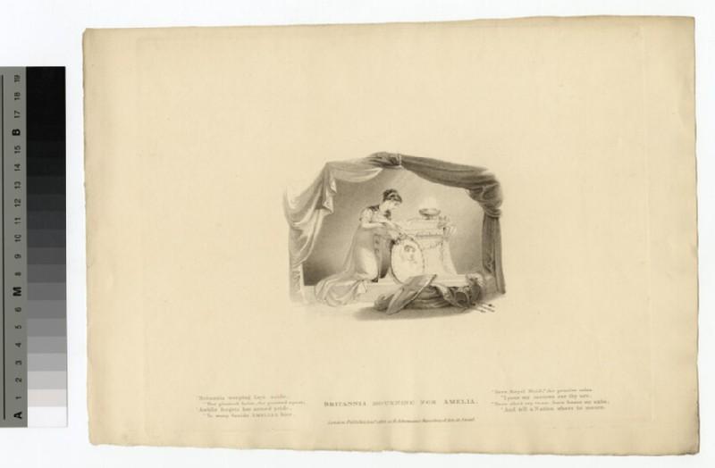 Portrait of Princess Amelia (WAHP14219)