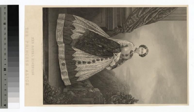 Portrait of Princess Alice (WAHP14229)