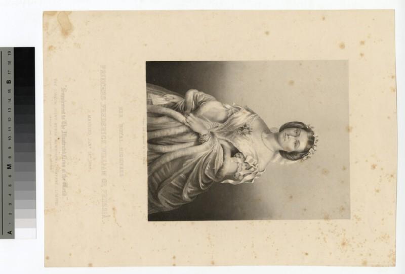 Portrait of Victoria, Crown Princess of Prussia