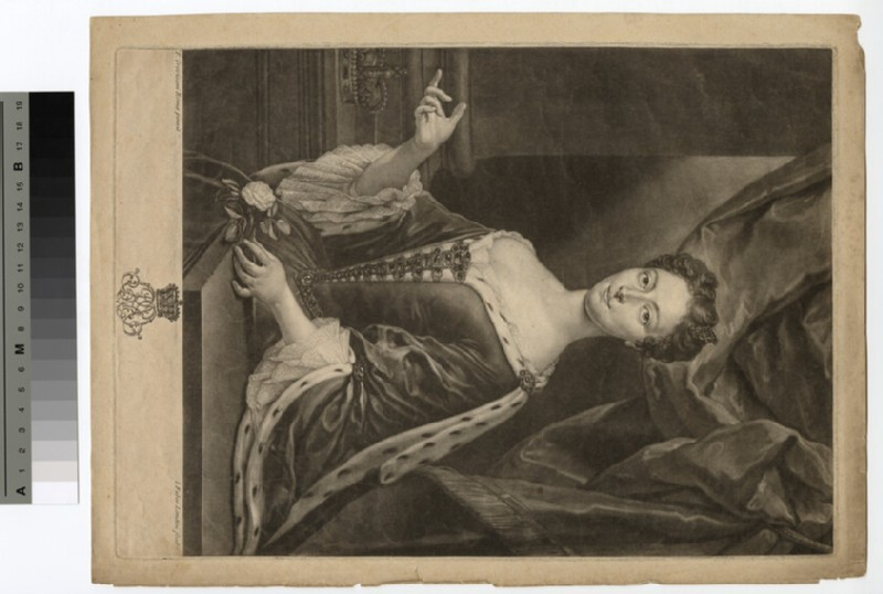 Portrait of Clementina Sobieska