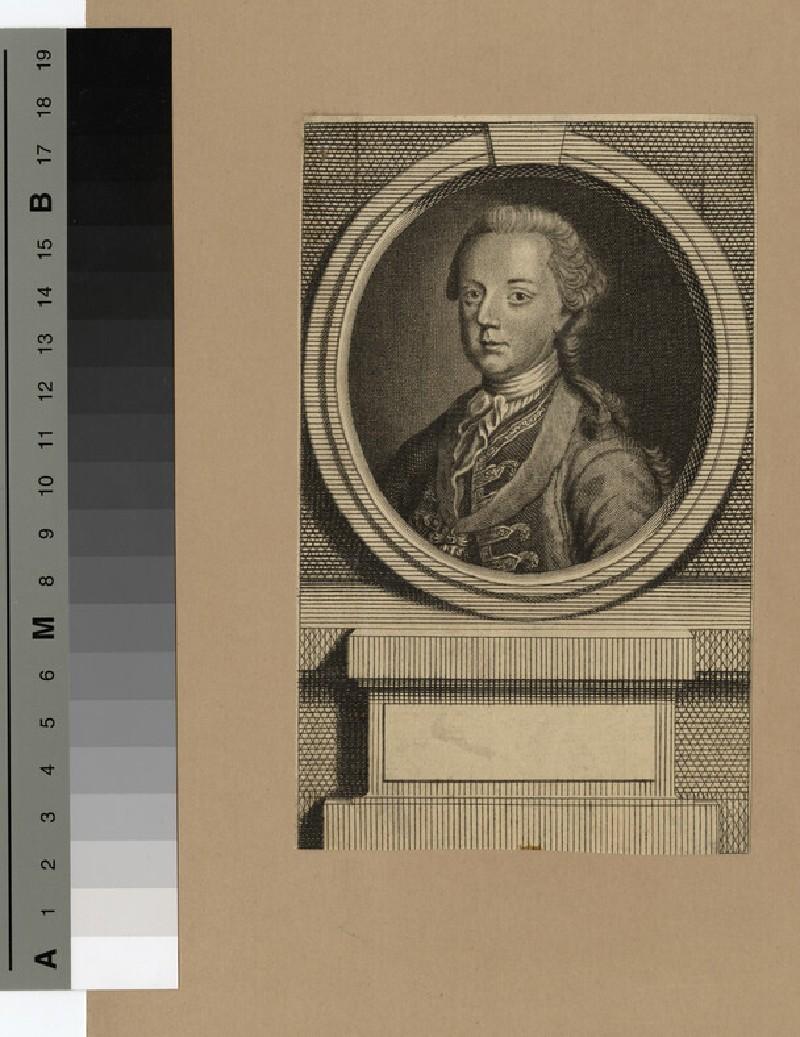 Portrait of Christian of Denmark