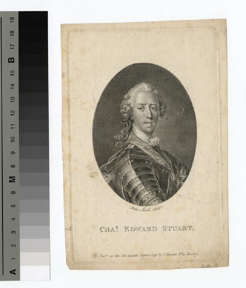 Portrait of Charles Edward Stuart