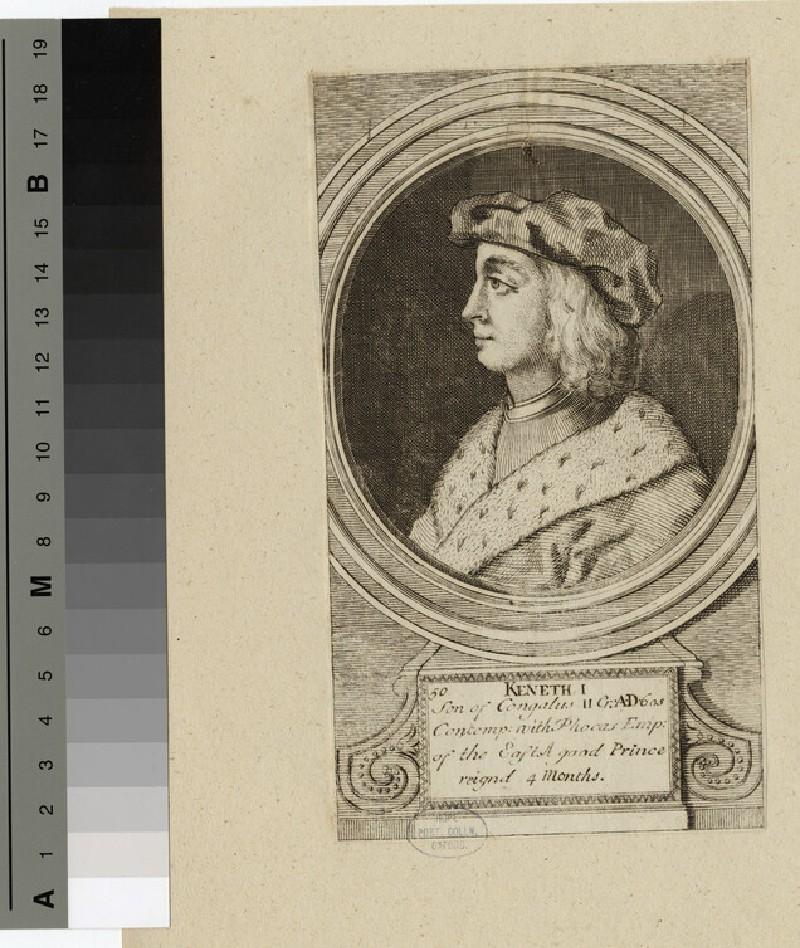Portrait of Keneth I (WAHP14298)