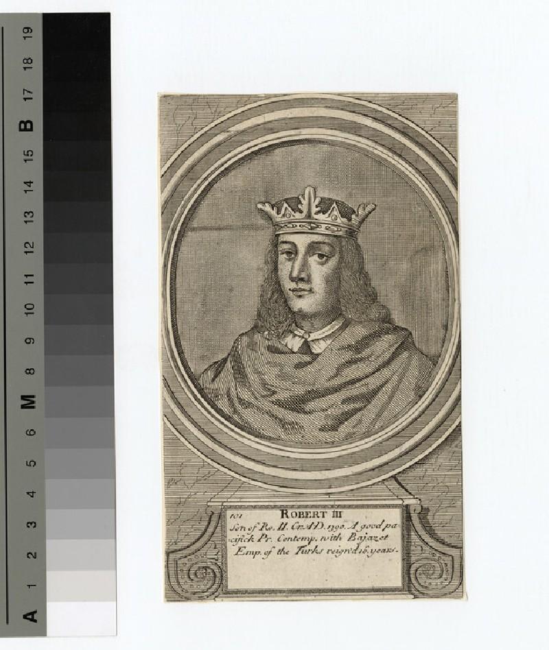 Portrait of Robert I