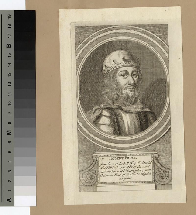 Portrait of Robert Bruce (WAHP14304)