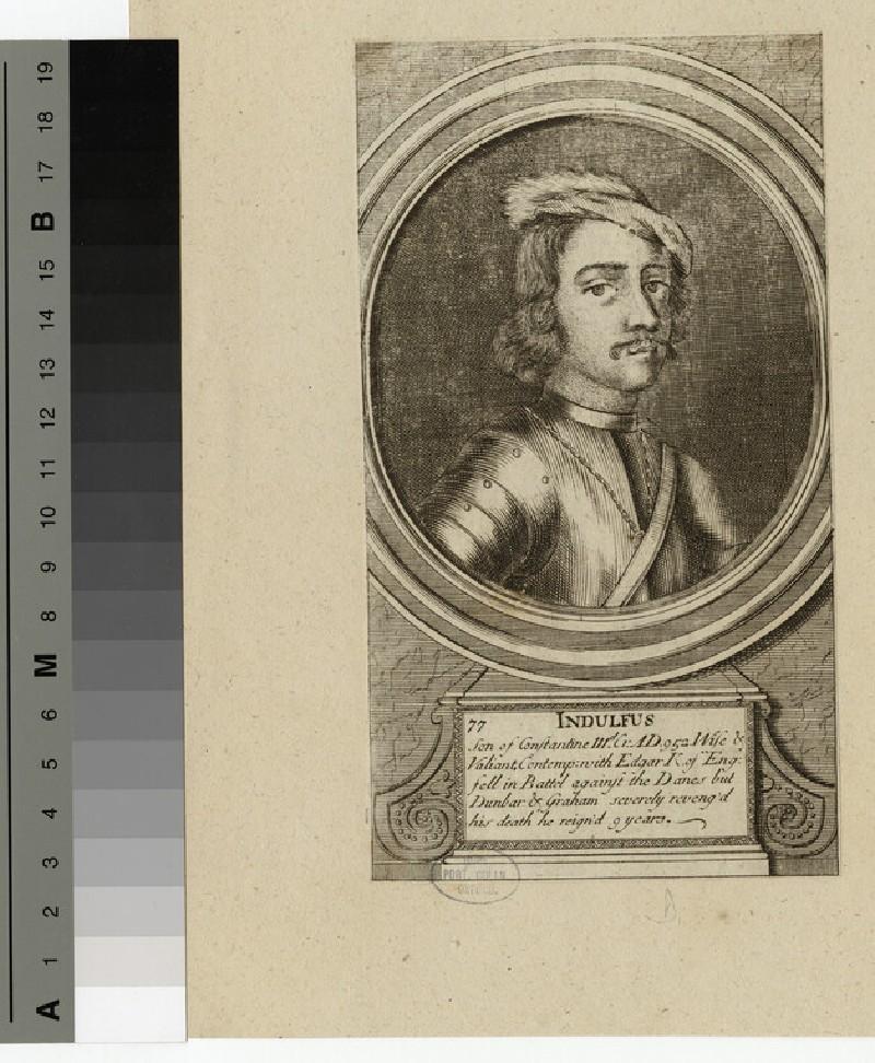 Portrait of Indulfus