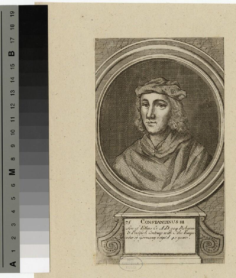 Portrait of Constantine III