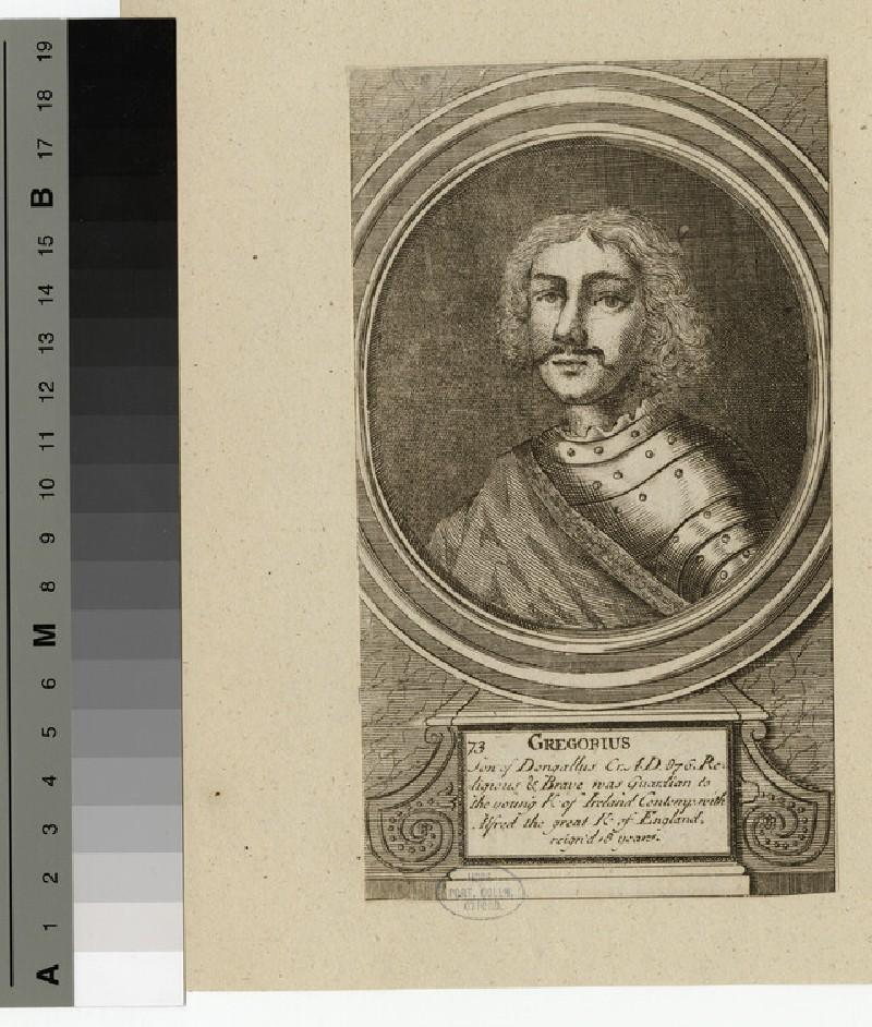Portrait of Gregorius