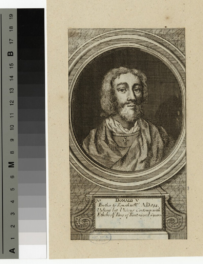 Portrait of Donald V (WAHP14327)